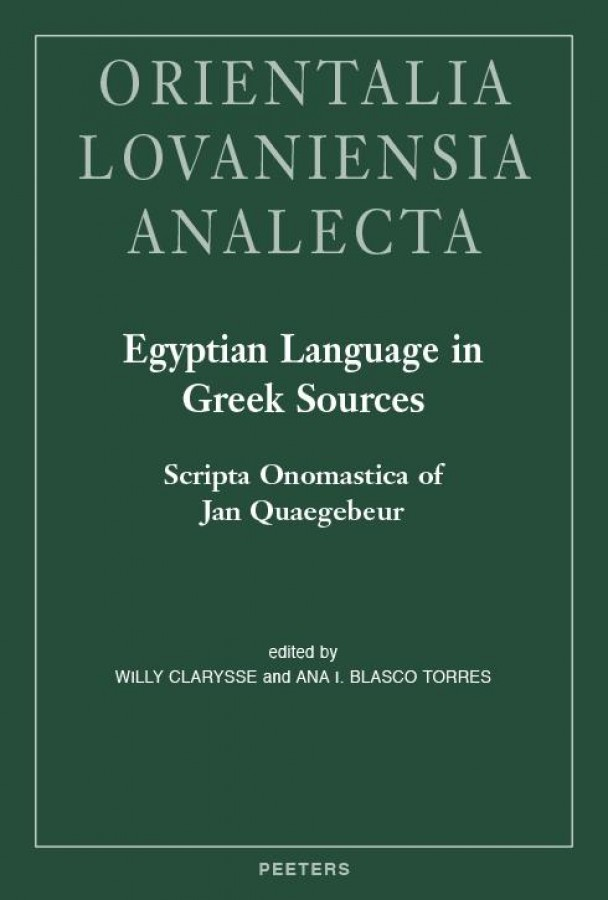 Egyptian Language in Greek Sources