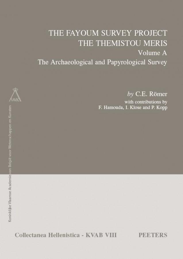 The Fayoum Survey: The Themistou Meris. Volume A