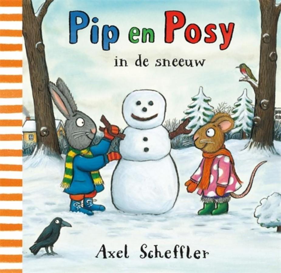 Pip en Posy in de sneeuw