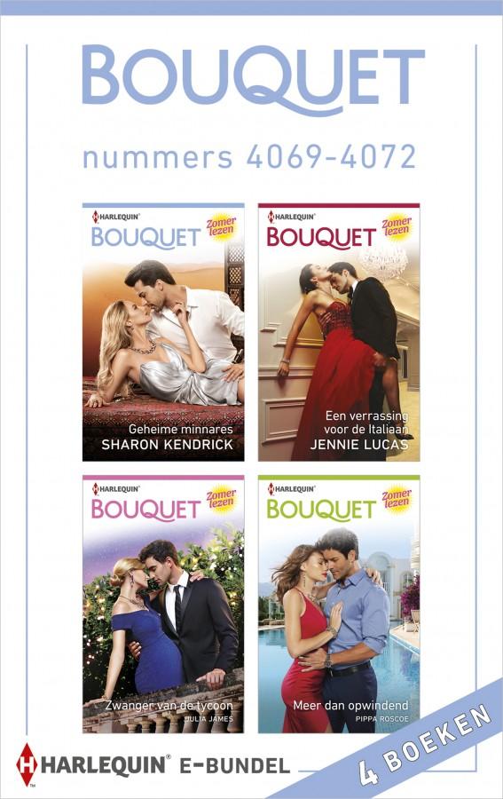 Bouquet e-bundel nummers 4069 - 4072