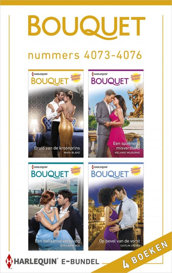 Bouquet e-bundel nummers 4073 - 4076