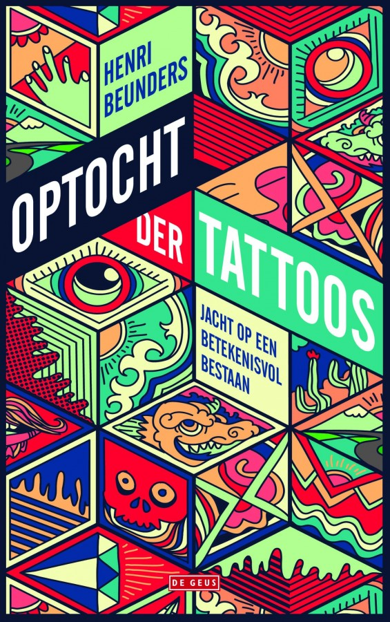 Optocht der tattoos