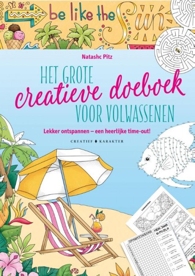 Het grote creatieve doeboek voor volwassenen
