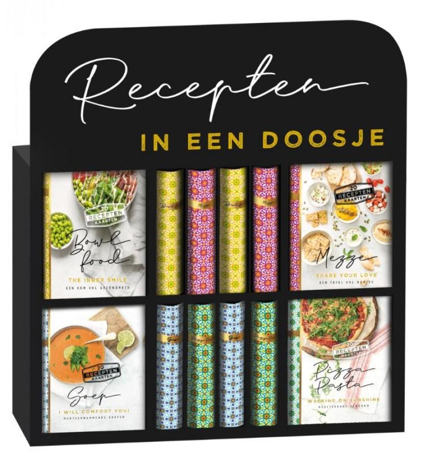 Mini bookbox recepten Mezze