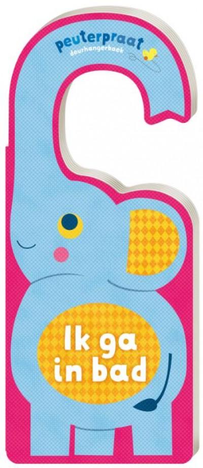 Deurhangerboek - Badtijd met olifant