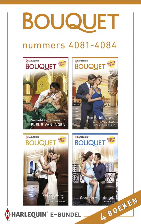 Bouquet e-bundel nummers 4081 - 4084