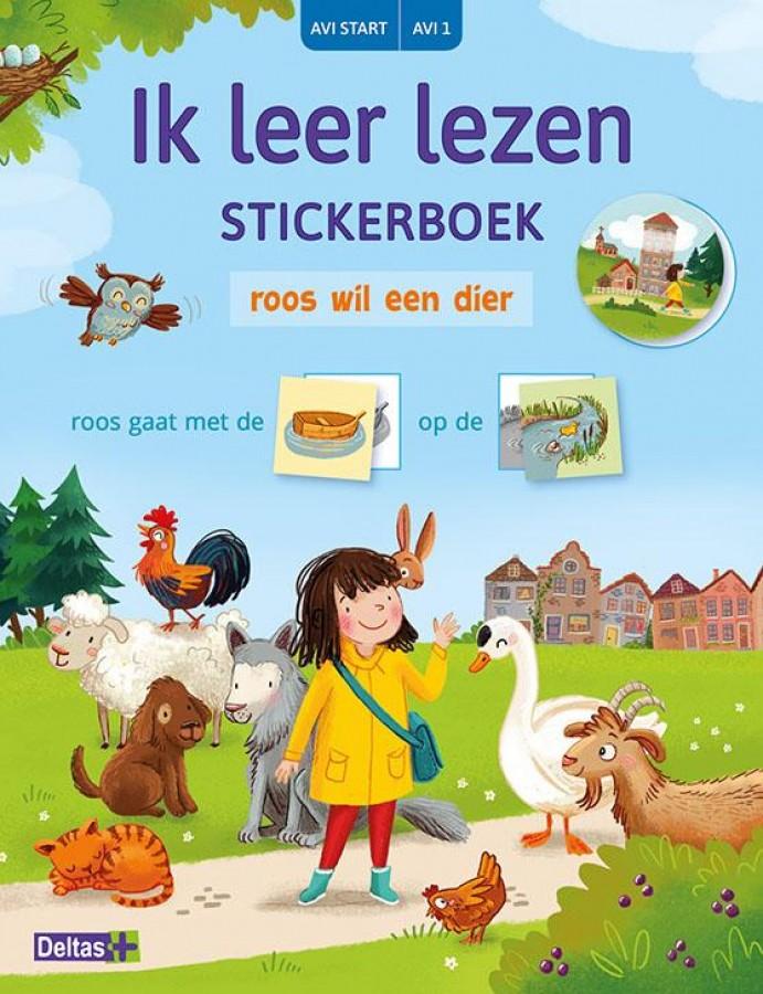 Ik leer lezen Stickerboek - Roos wil een dier (AVI START/AVI 1)