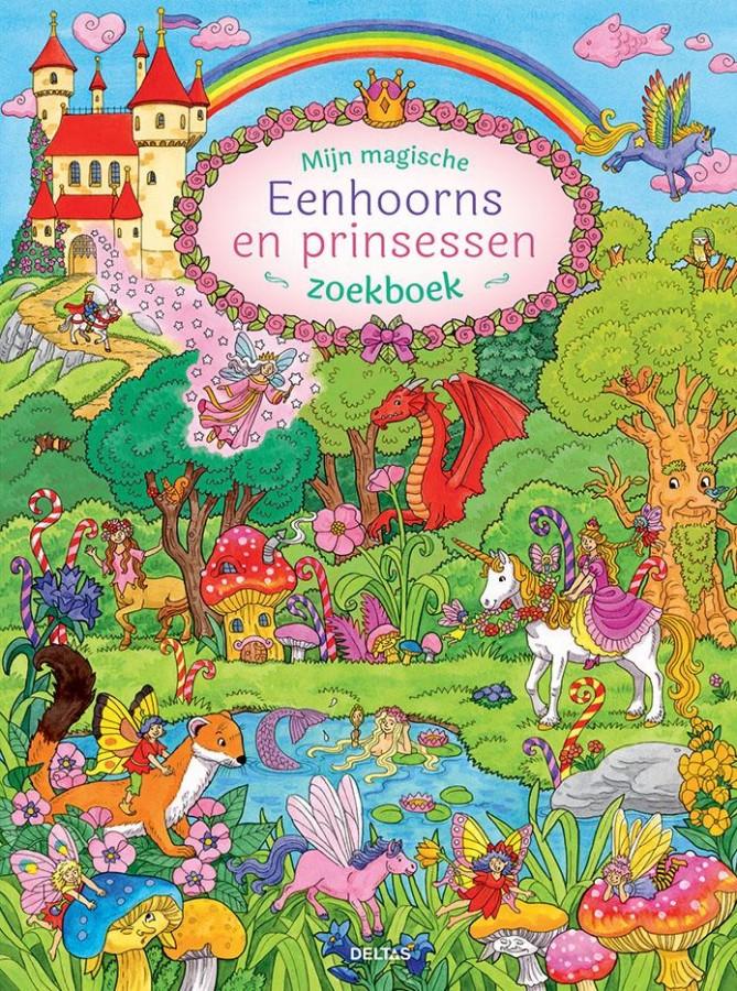 Mijn magische eenhoorns en prinsessen zoekboek