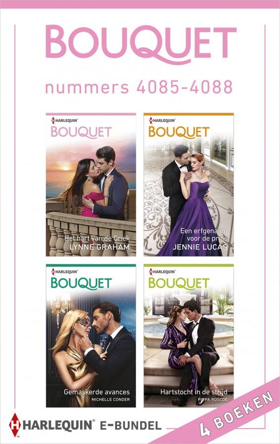 Bouquet e-bundel nummers 4085 - 4088