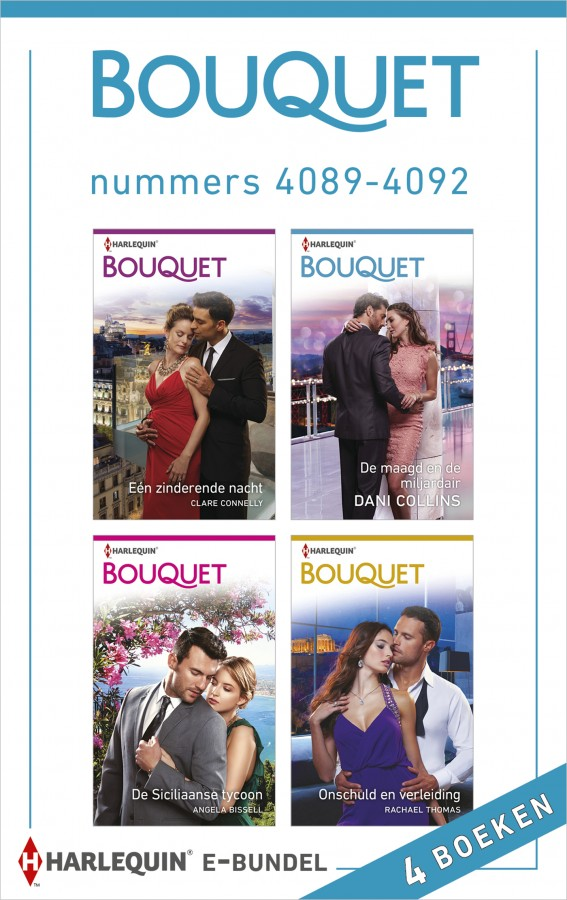 Bouquet e-bundel nummers 4089 - 4092