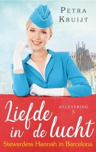 Stewardess Hannah in Barcelona