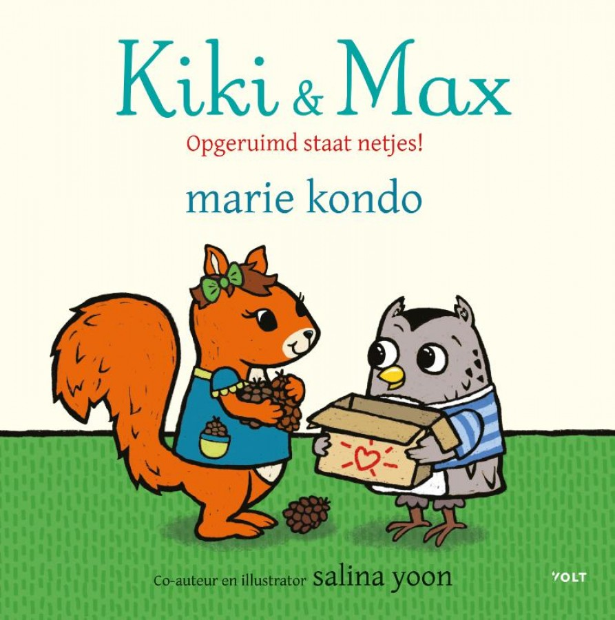 Kiki & Max: Opgeruimd staat netjes!