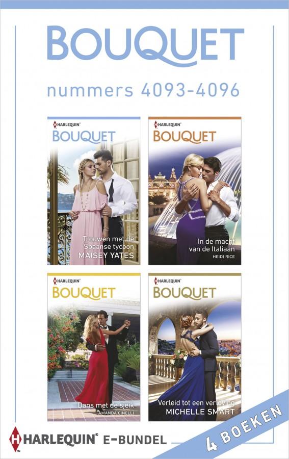 Bouquet e-bundel nummers 4093 - 4096