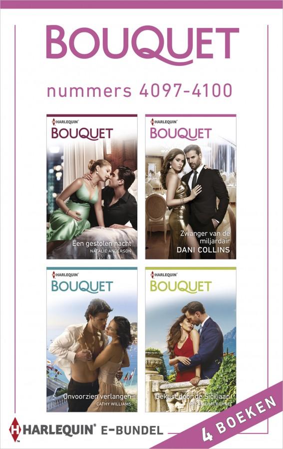 Bouquet e-bundel nummers 4097 - 4100