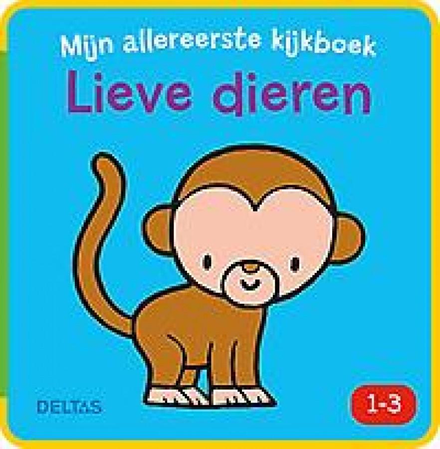 Mijn allereerste kijkboek - Lieve dieren (1-3 j.)