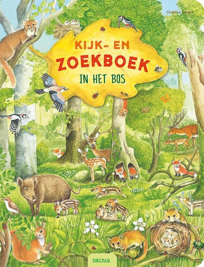 Kijk- en zoekboek - In het bos