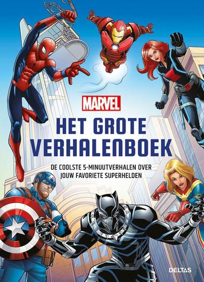 Marvel het grote verhalenboek