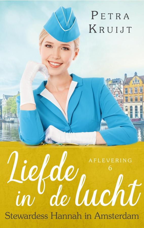 Stewardess Hannah in Amsterdam