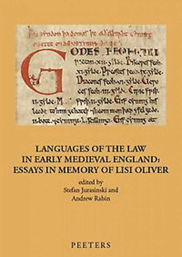 Languages of the Law in Early Medieval England