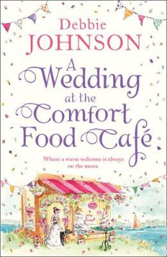 Wedding at the comfort food cafe