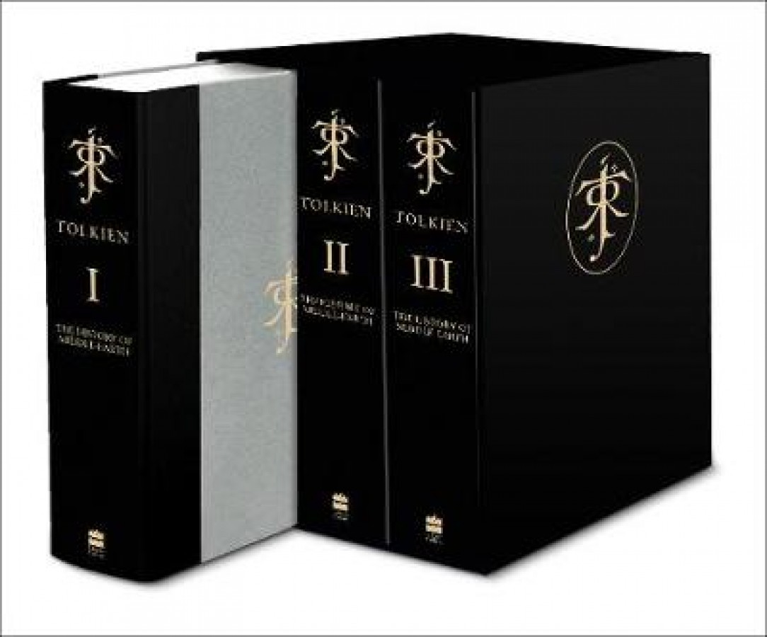 Complete history of middle-earth (deluxe boxed set)