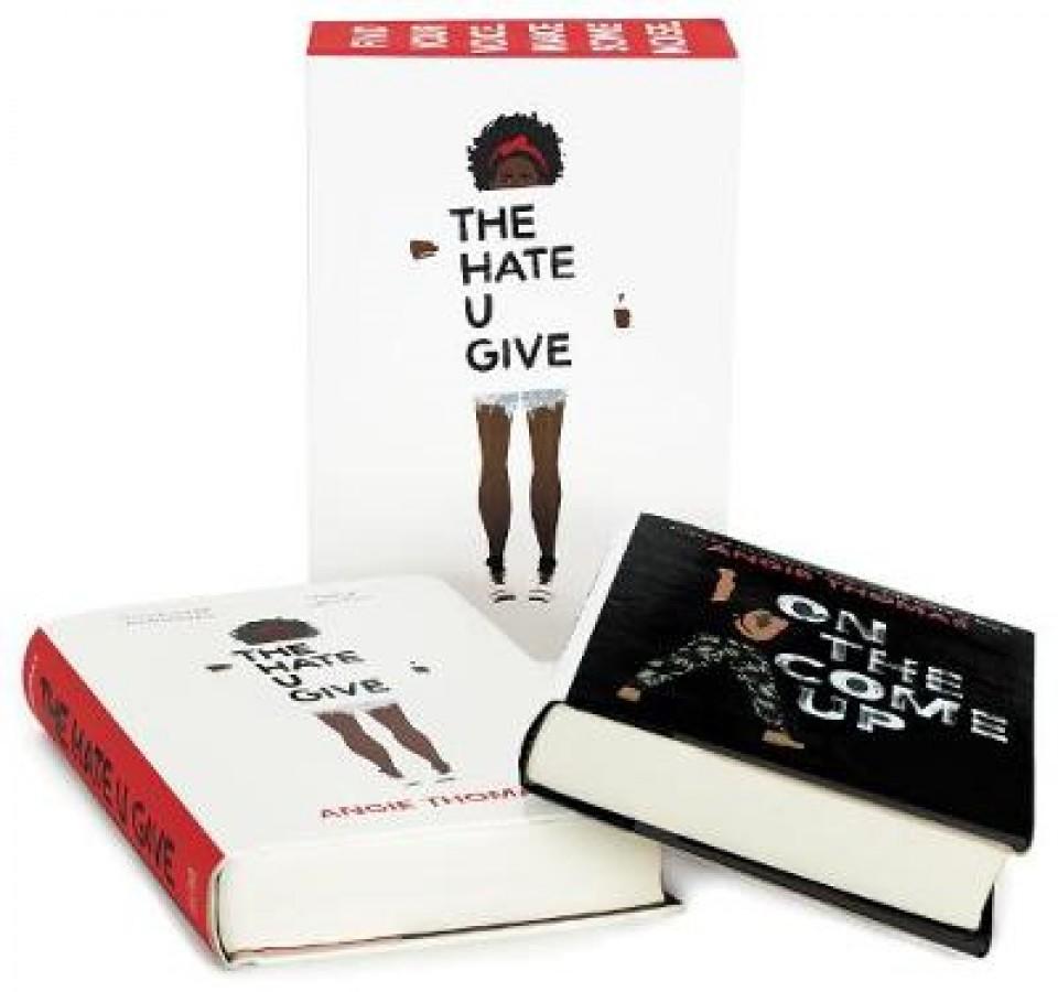 Angie thomas 2-book hardcover box set