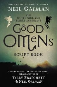 Quite nice & fairly accurate good omens script book