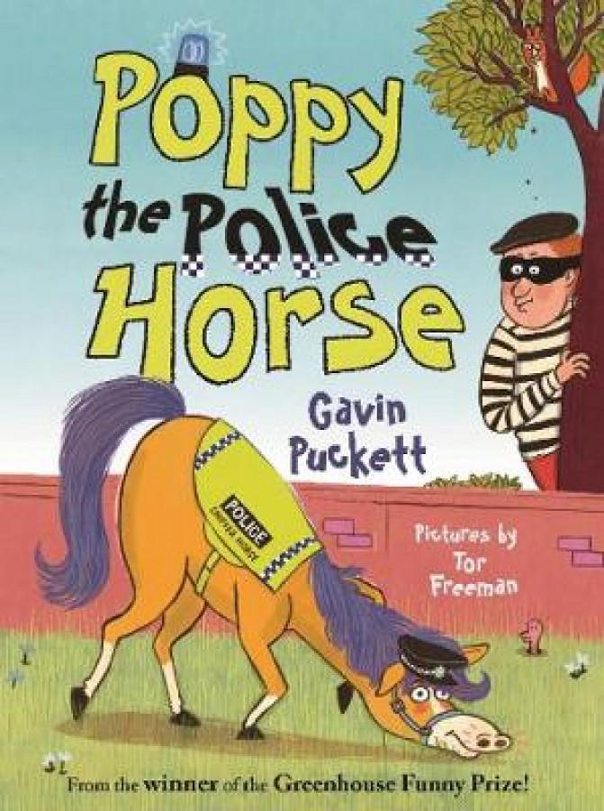 Poppy the police horse
