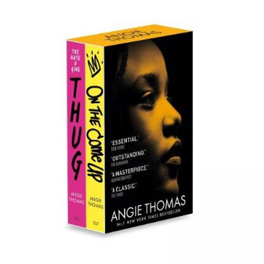 Angie thomas collector's paperback boxed set