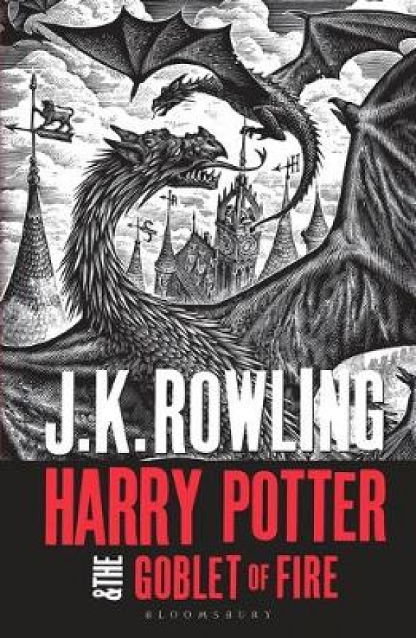 Harry potter (04): harry potter and the goblet of fire (adult paperback)
