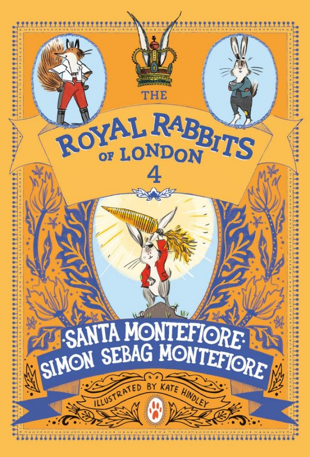 Royal rabbits of london (04): the hunt for the golden carrot