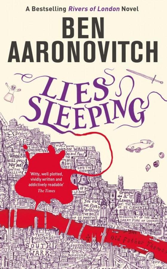 Rivers of london (07): lies sleeping
