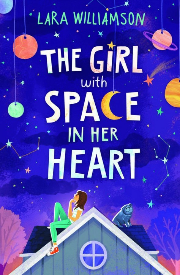 Girl with space in her heart