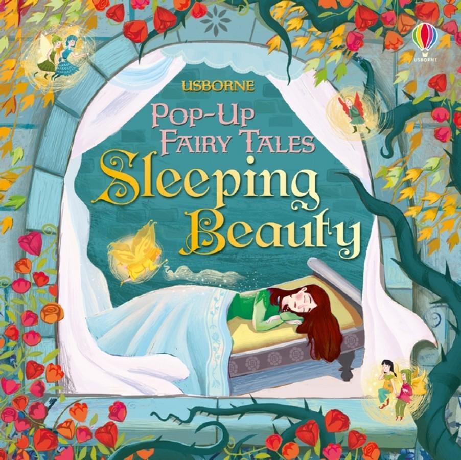 Pop-up sleeping beauty
