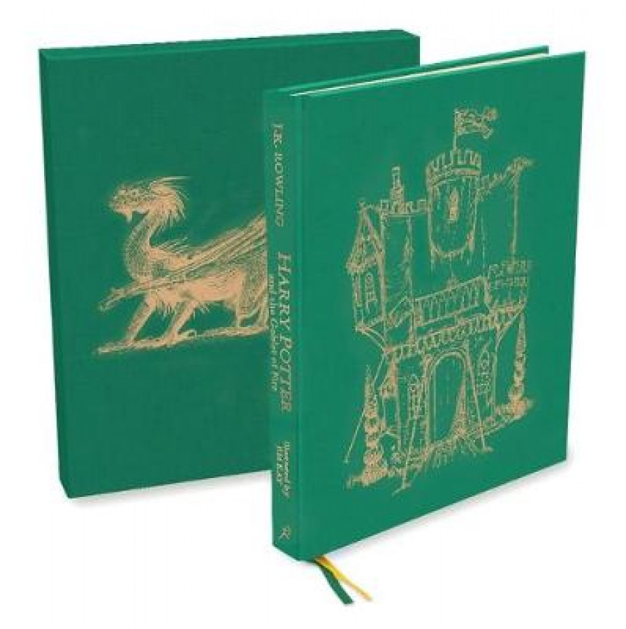Harry potter (04): harry potter and the goblet of fire (illustrated deluxe edition)