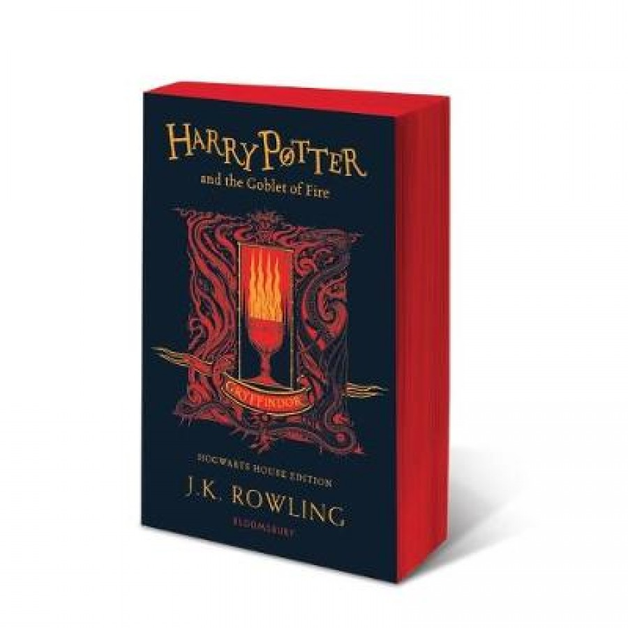 Harry potter (04): harry potter and the goblet of fire - gryffindor edition