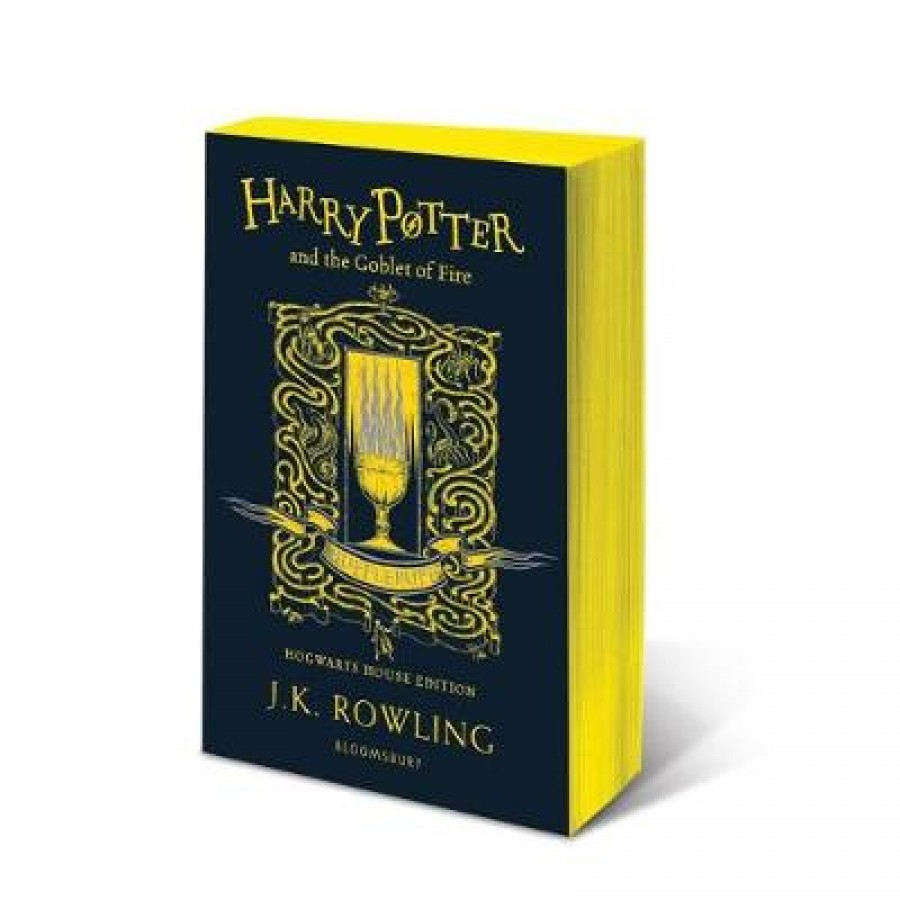 Harry potter (04): harry potter and the goblet of fire - hufflepuff edition
