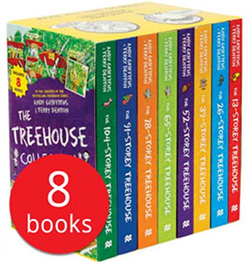Andy griffiths treehouse series
