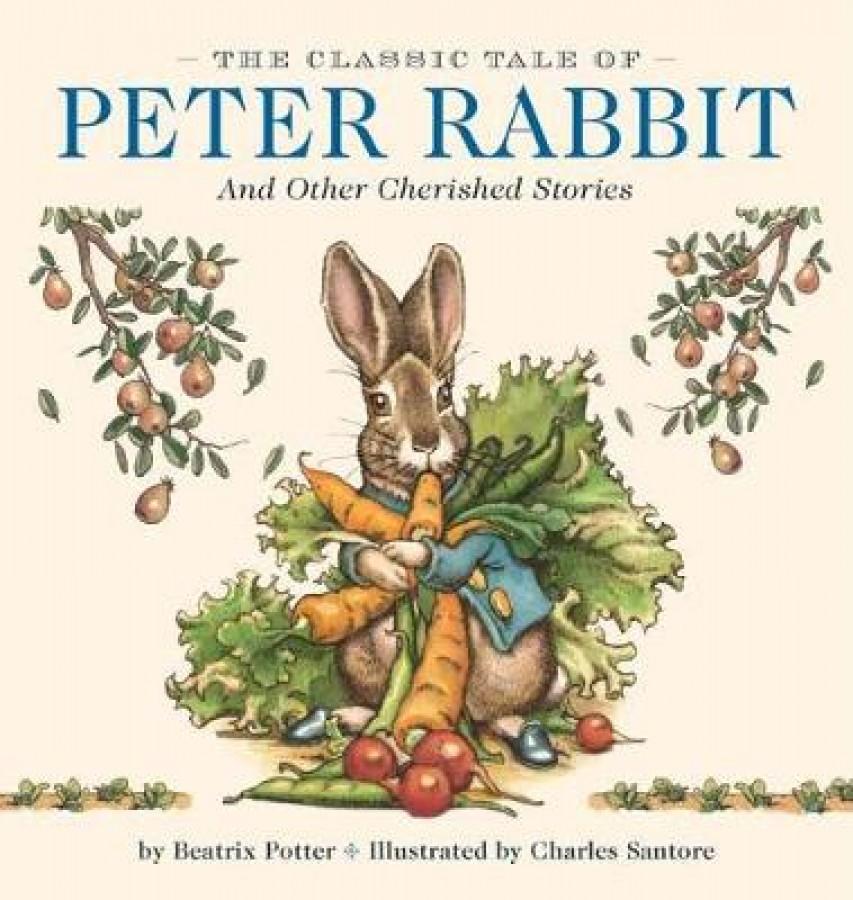 Peter rabbit oversized padded board book
