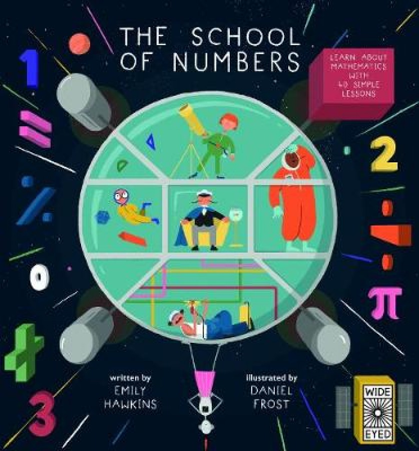 School of numbers : a galaxy of maths