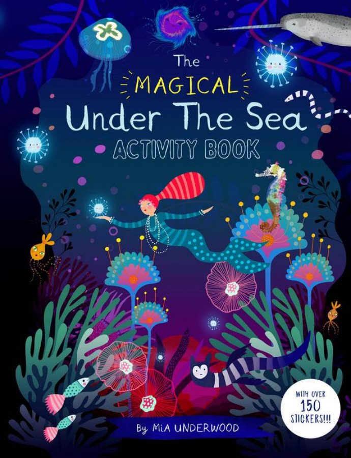 Magical under the sea activity book