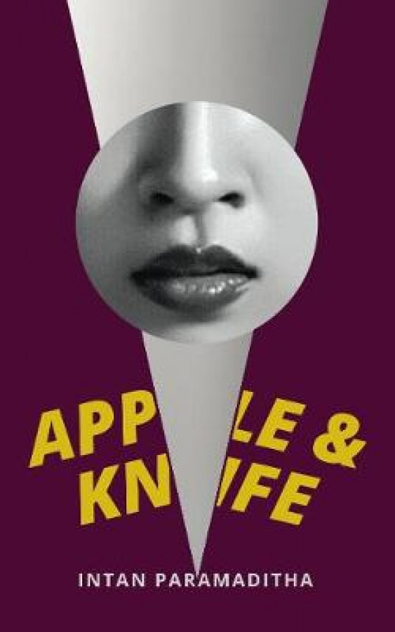 Apple and knife