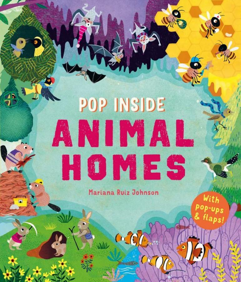 Pop inside animal homes