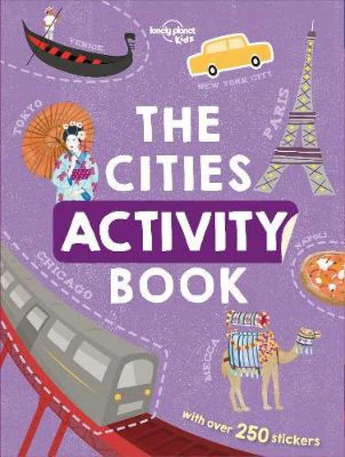 Lonely planet Cities activity book