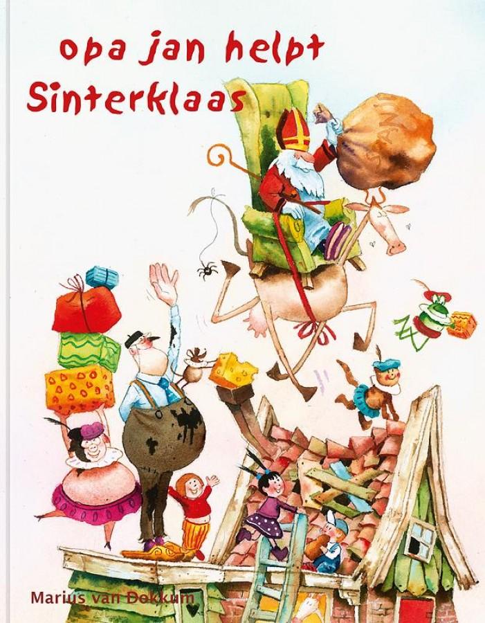 Opa Jan helpt Sinterklaas