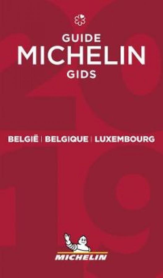 Belgie belgique luxembourg: michelin guide 2019