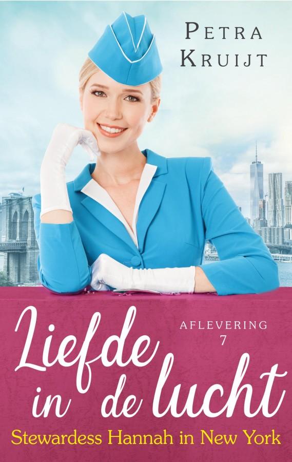 Stewardess Hannah in New York