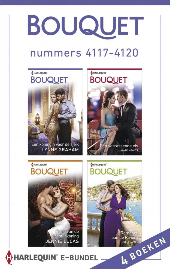 Bouquet e-bundel nummers 4117 - 4120