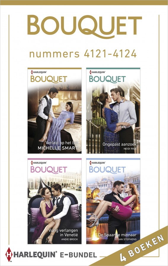Bouquet e-bundel nummers 4121 - 4124