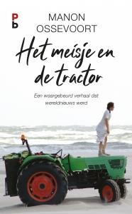Het meisje en de tractor.
